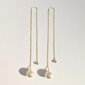 Elin Pearl Drop Earrings